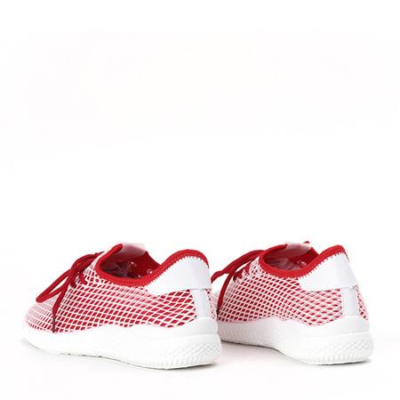Sportowe buty w kolorze czerwonym Kaylee - Obuwie