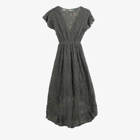 Sukienka koronkowa w kolorze khaki - Sukienki