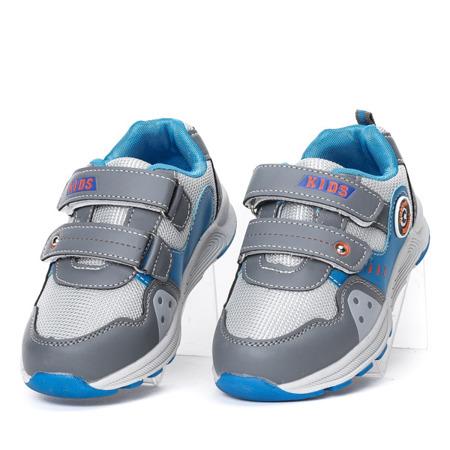 Szare buty chłopięce sportowe Nildan - Obuwie