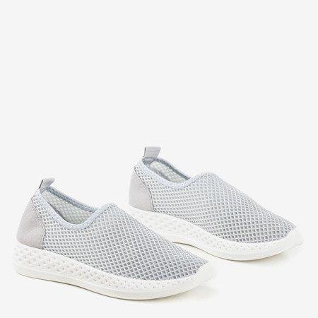 Szare sportowe buty damskie Araceli - Obuwie