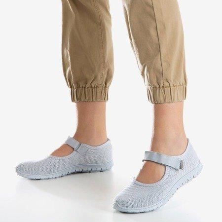 Szare sportowe buty damskie Tassiana - Obuwie