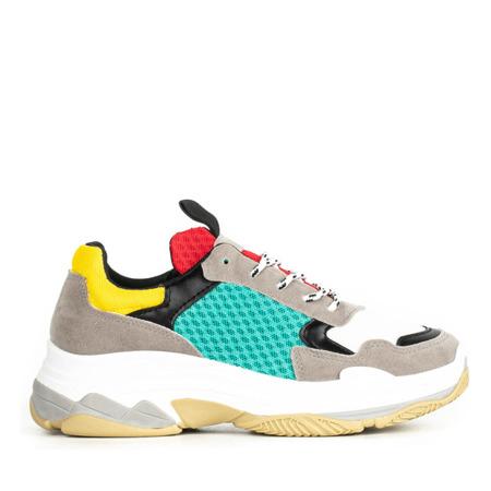 Wielokolorowe buty sportowe Yumeka - Obuwie
