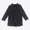 Czarna damska bluza z kapturem - Odzież