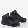 Czarne dziecięce buty sportowe z wysoką cholewką Nicoles - Obuwie