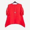 Czerwona tunika damska - Odzież