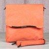Mała torebka na ramię w kolorze pomarańczowym - Torebki
