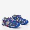 Niebieskie dziecięce sandały Ben - Obuwie