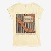 Żółta koszulka z krótkim rękawem - Odzież